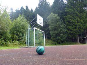Basketball Gruppenunterkünfte Bayerischer Wald