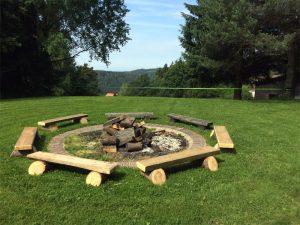 Feuerstelle Gruppenunterkünfte Bayerischer Wald