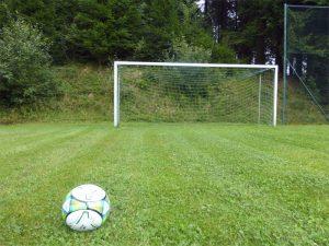 Fussballplatz Gruppenunterkünfte Bayerischer Wald