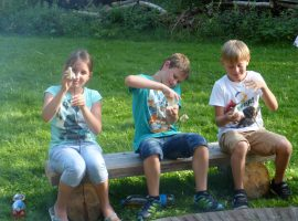 Kindergeburtstag - Stockbrotgrillen
